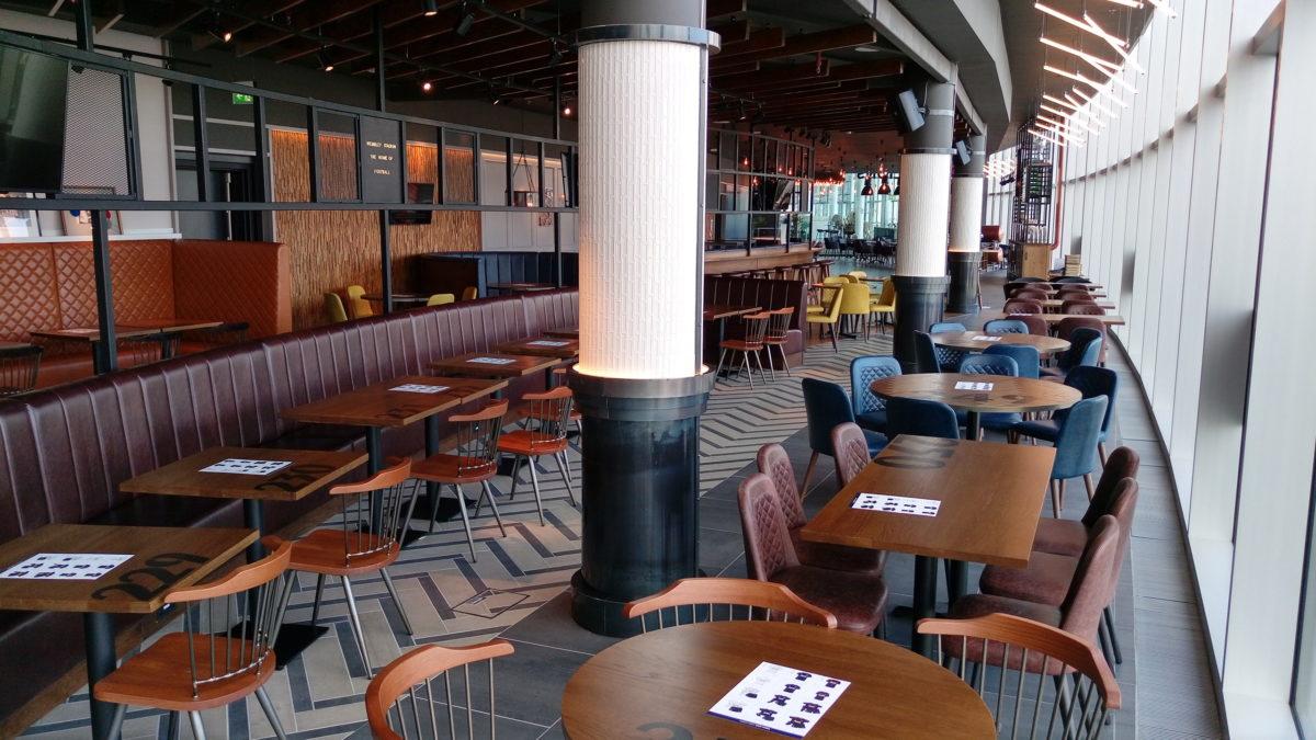 Three Lions Gastro Bar at Wembley Stadium